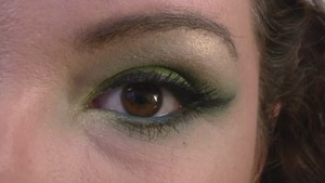 Maybelline Color Explosion Forest Fury Eye Tutorial