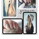 Velvet and Kaviar Nails