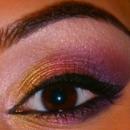 Soft, Purple Smokey Eye