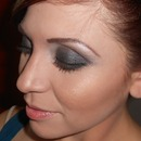 Steel Smokey eye