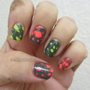 Another Inspired By cutepolish Water Spotted Manicure