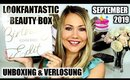 Lookfantastic Beauty Box  September 2019 | Birthday Edition mit Verlosung 🥳