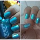 Turquoise Nails!