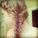 Fishtail And French Braid
