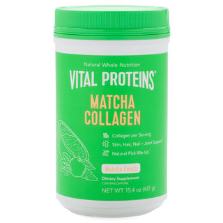 Matcha Collagen - Peach 15.4 oz