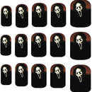 Scream Nail Art Decals