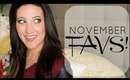 November Favorites | Megan McTaggart
