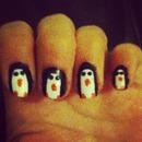 penguin nails