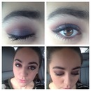 Winter smoky eye