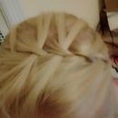 waterfall braid headband