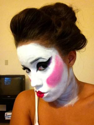 My Halloween Geisha Look. So much fun!