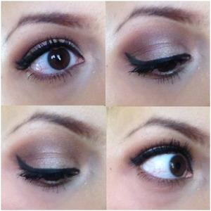neutral eyes for work. :)