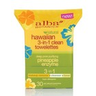 Alba Botanica Natural Hawaiian 3-In-1 Clean Towelettes