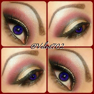 Night time look for valentine