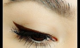 HOW TO: Liquid Liner + Wing