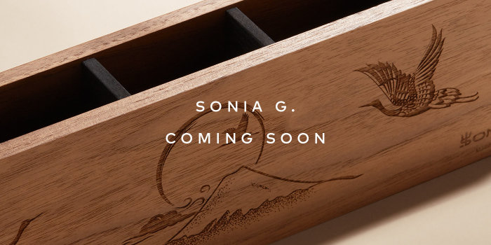 Get on the list for Sonia G.'s next launch.