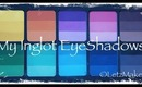 My Inglot EyeShadows & Palettes.....(Entire collection so far!)