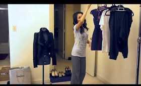 Fashion - The Aviator Leather Jacket with Christian Louboutin heels