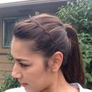 Waterfall braid headband! (Original picture)