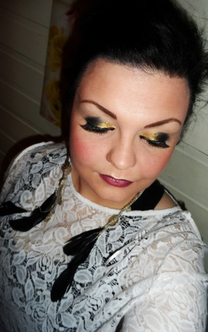 sexy makeup party or out on the town.