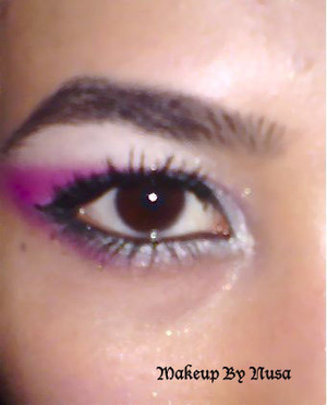 Fresh party makeup