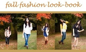 Fall Inspiration | Autumn Fashion Look-Book