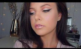 SOFT PINK CUT CREASE Makeup Tutorial   Danielle Scott