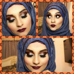 Hi lovelies.. This is the recent makeup tutorial i came up with.i used anastasia amrezy palette and Sad girl liquid lipstick. link to my youtube channel is in my profile. hope you all enjoy :)