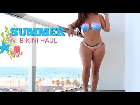a8dc3bca4271d UNDER  20 AFFORDABLE BIKINI TRY ON HAUL l Summer 2017