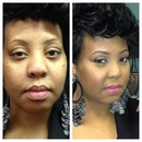 My work-soft natural look