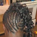 Corn roll Braided Hair#2