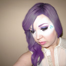 My Little Pony Rarity Inspired Look (closed eyes)