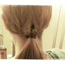 flip-through Ponytail