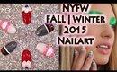 NYFW Fall Winter 2015 Nail Designs   Tutorial