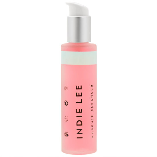 Indie Lee Rosehip Cleanser product smear.