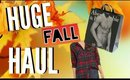 HUGE FALL HAUL + TRY ON