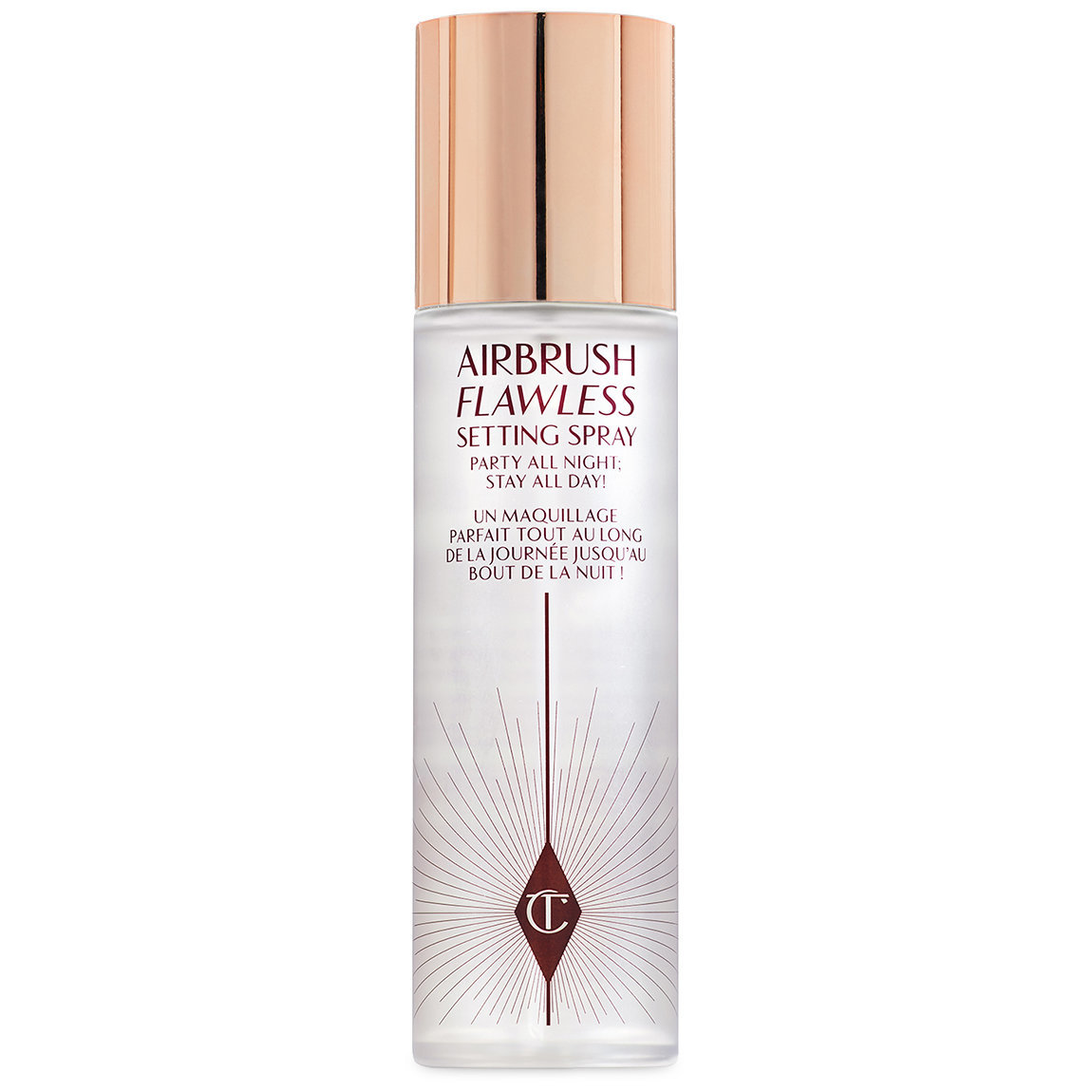 Charlotte Tilbury Airbrush Flawless Setting Spray 100 ml product swatch.