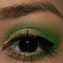 Glitzy Green