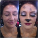 Makeup for hair show