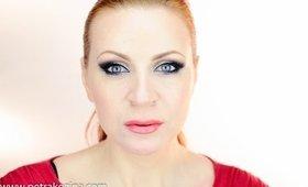 Prom Cat Eye Makeup - Mačje ličenje za maturantski ples  (in SLOVENIAN)