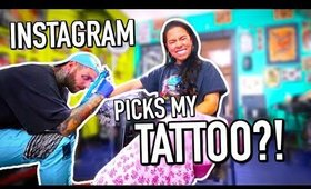 I let Instagram pick my tattoo?! Instagram controls my life for a Day!