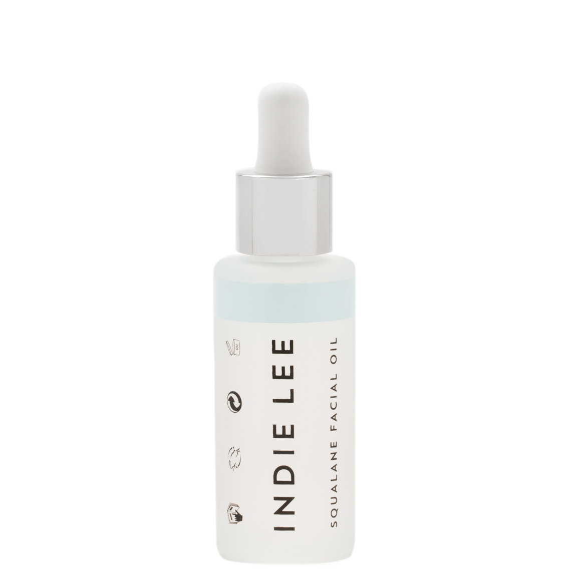 Indie Lee Squalane Facial Oil 1 oz product smear.