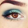 Teal and Turquoise makeup