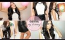 GET READY WITH ME: My Birthday Makeup, Hair, & Outfit!