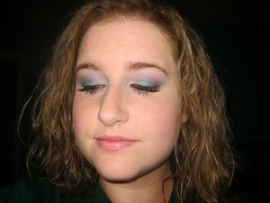 Another look featuring UD's 15th Anniversary Palette and Benefit's They're Real Mascara.