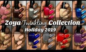 "Zoya ""Twinkling"" Holiday Collection 2019"