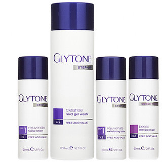 Glytone Normal to Oily System Kit 1 w/Mini Peel (4 piece)