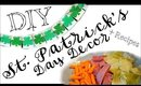 DIY St. Patrick's Day Decor + Recipe Ideas