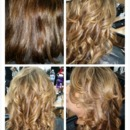 tamarahmua color sassoon highlights weave curls