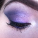 Duochromatic Purple Smokey Eye